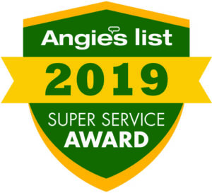 Precise Carpet Cleaning wins Angie's List Super Service Award
